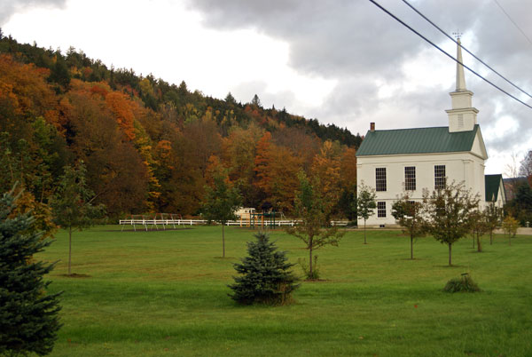 Hancock's tiny population (382 at the last census) belies the treasures within the town. The village is nestled at the foot of Middlebury Gap, and is home to the Middlebury College Snow Bowl (with the oldest base ski lodge in the United States), the eastern half of one of Vermont's few state-designated 'Scenic' driving routes (state route 125), the Hancock Overlook of the National Forest, and the cascading flume of Texas Falls. Hancock, Vermont invites you to enjoy its unique and pristine outdoor attractions.