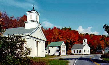 New England's poet laureate, Robert Frost, summered here in Ripton for forty years – come experience the solitude and scenery that brought him back season after season. Ripton, Vermont is a classic hillside hamlet, tranquil and timeless, home to a picturesque collection of civic buildings and an authentic old-time country store. Winter skiing, summer and fall hiking, and year-round hospitality beckon you to Ripton, enveloped by the Green Mountain National Forest, yet convenient to Middlebury and its enticements.