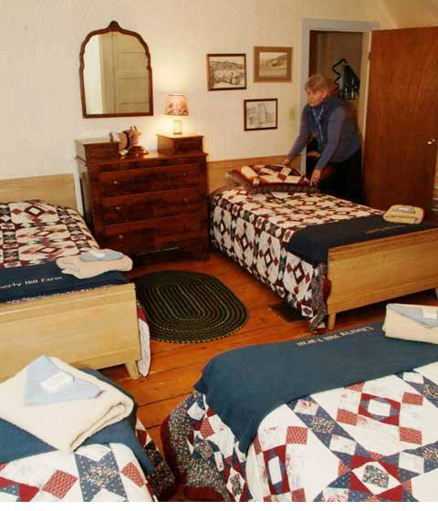 Liberty Hill Farm Bed and Breakfast, Rochester, Vermont